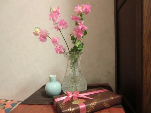 16.1.23花とプレゼント